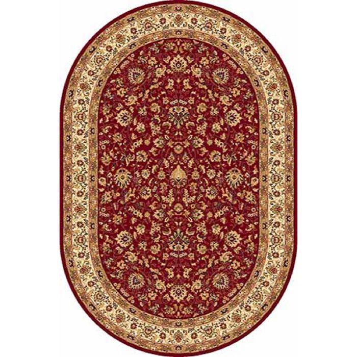 Ковёр Heat-set IZMIR 5471, 1,5*3 м, овал, RED
