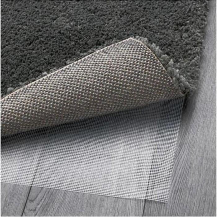 Ковёр ОДУМ, размер 133х195 см, длинный ворс, цвет тёмно-серый