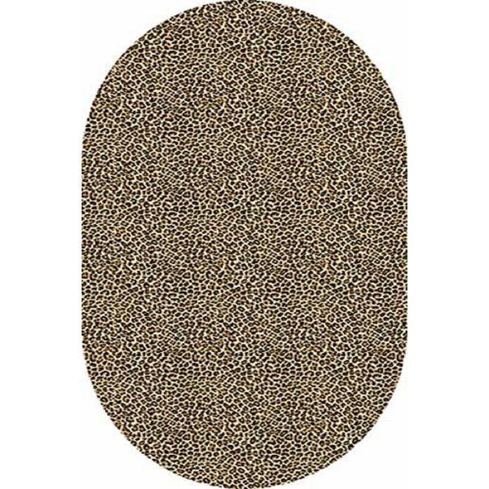 Ковёр Хит-Сет ПП VALENCIA d112, 2*5 м, овал, BEIGE
