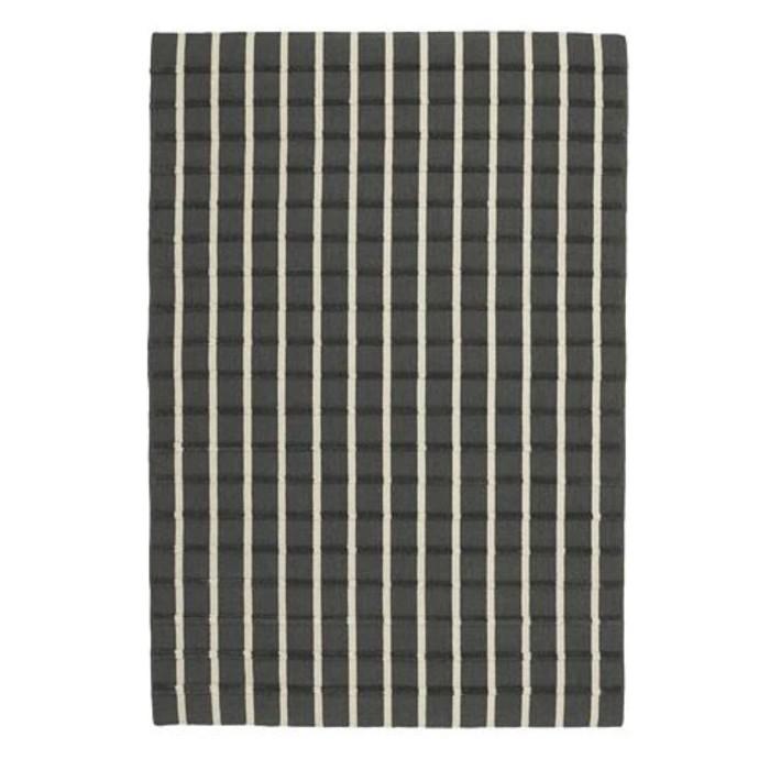 Ковёр ФОУЛУМ, размер 133х195 см, безворсовый, цвет серый