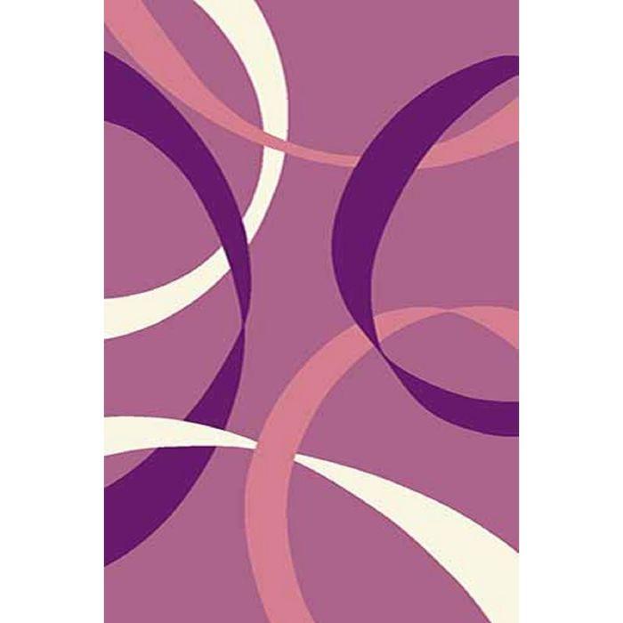 Ковёр Карвинг Фризе VISION DELUXE v801, 2*5 м, прямоугольный, LILAC