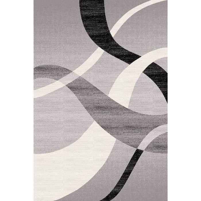 Ковёр Omega Carving  7690 GREY/BLACK 2.0*4.5 м, прямоугольный