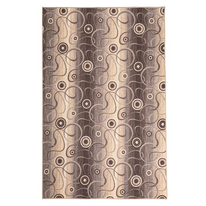 Палас СФЕРА, размер 100х200 см, цвет серый 19/21 войлок 195 г/м2