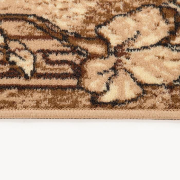 Ковер Золушка, размер 100х200 см, овальный 030/1