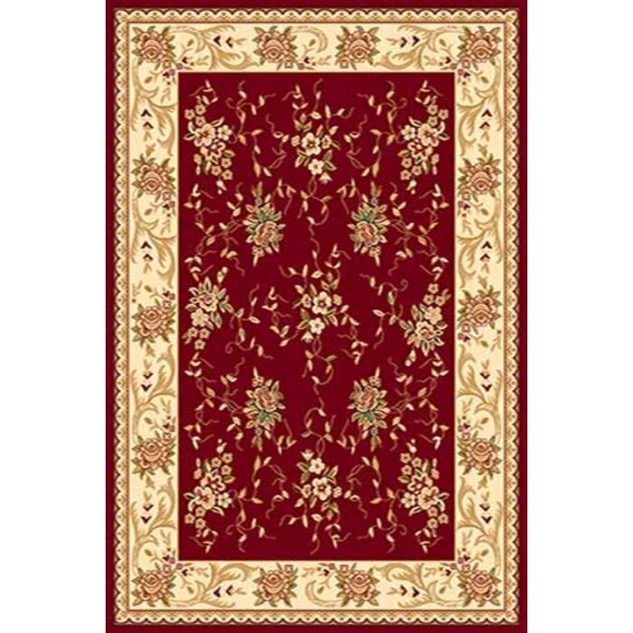 Ковёр Хит-Сет ПП VALENCIA 5455, 0,8*1,5 м, прямоугольный, RED