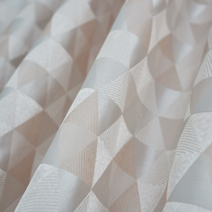 Шторы портьерные «Абстракция», размер 135 × 260-2 шт, цвет серый