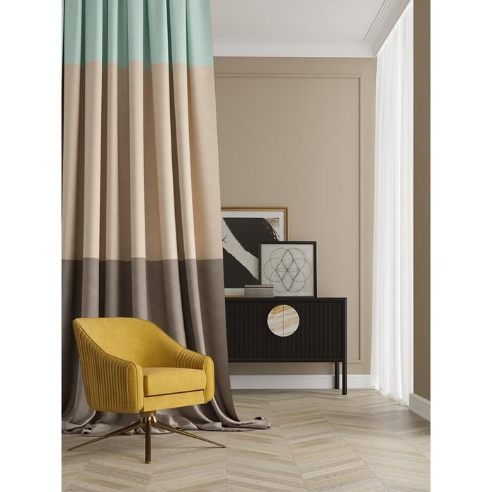 Портьера «Плоутс», размер 150 × 280 см - 1 шт