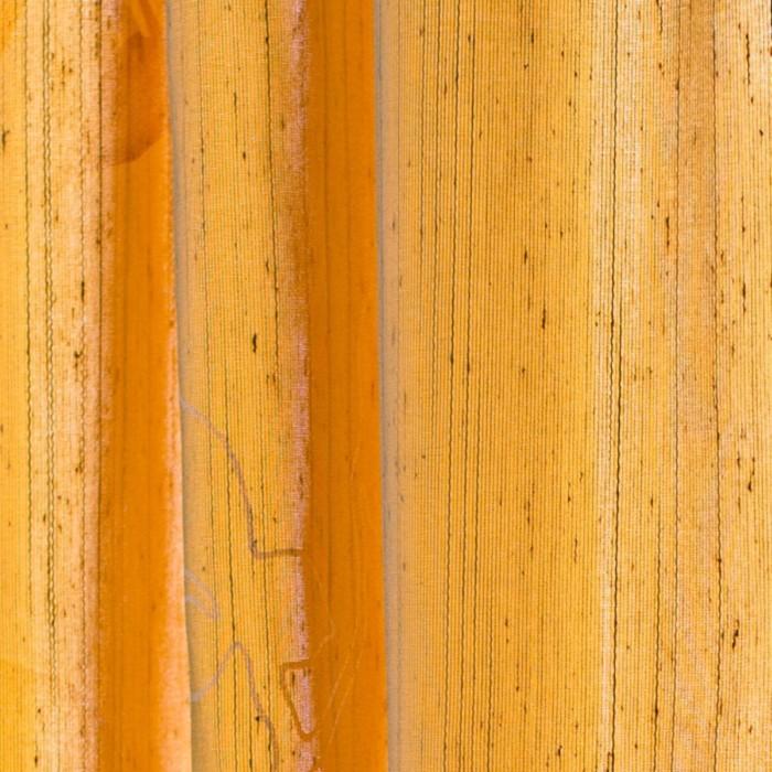Шторы Aralie, размер 160х250 см-2 шт., цвет оранжевый, шторная лента