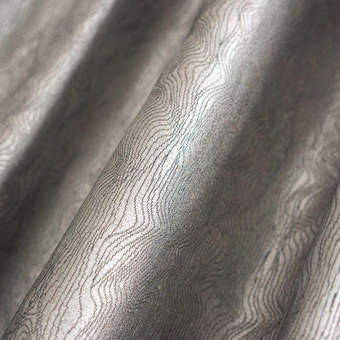 Шторы портьерные «Ривьера», размер 190 × 275 см-2 шт, жаккард, серый