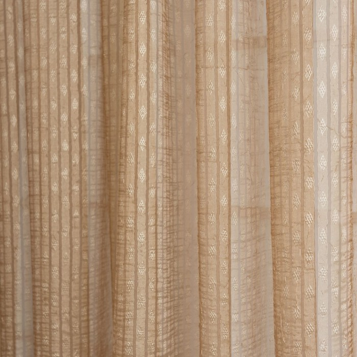Портьера «Дип», размер 490х280 см-1 шт, цвет бежевый