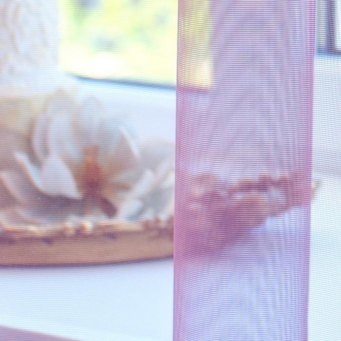Тюль Hohmann, размер 400х270 см, цвет розовый, шторная лента