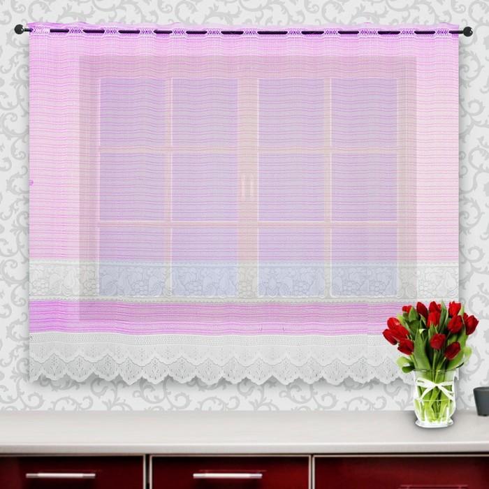 Гардина, размер 245х160 см, розовый 88844