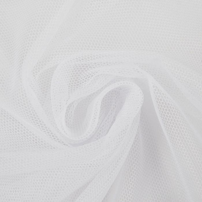 """Штора """"Грек"""" 300х260 см, шт.лента, сетка, белый , 51 гр/м2, п/э 100%"""