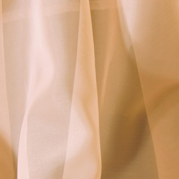 Вуаль, размер 500 × 260 см, цвет светло-персиковый