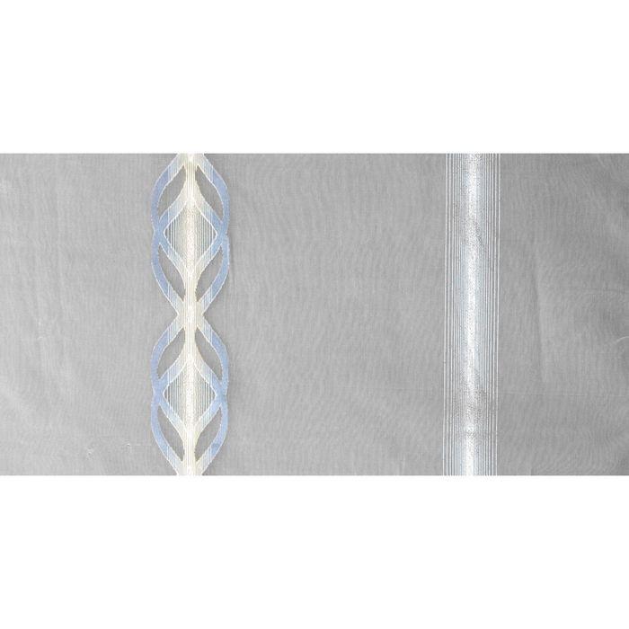 """Тюль """"Серебристые узоры"""", 300x275 см, п/э"""