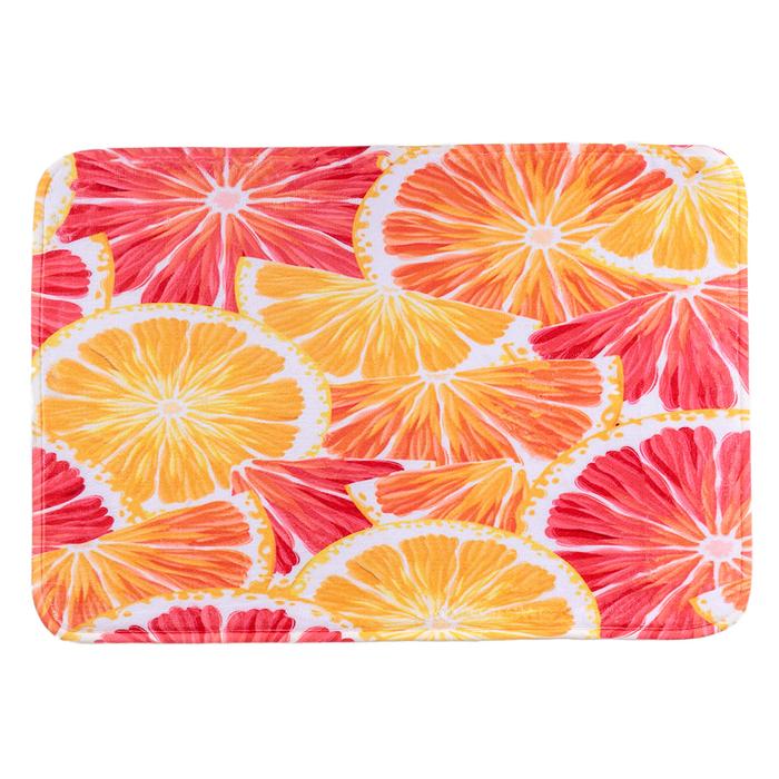 """Коврик для ванной 50×79 см """"Апельсин"""""""