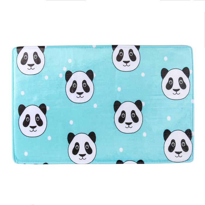 """Коврик для ванной 40×60 см """"Панда"""""""