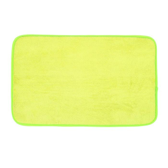 Коврик для ванной, цвет светло-зелёный
