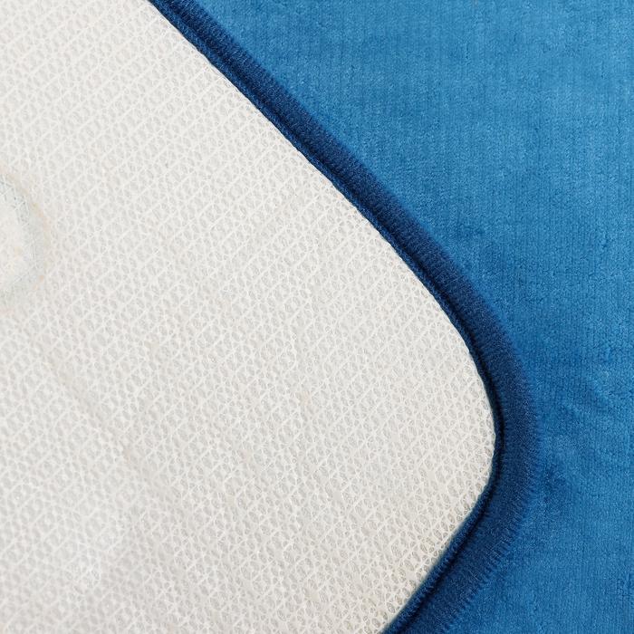 """Коврик для ванны 50×80 см """"Дельфины"""", цвет синий"""