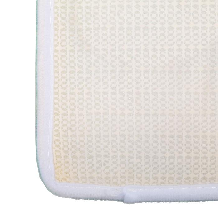 Набор ковриков для ванны и туалета, 2 шт., «Тропики»