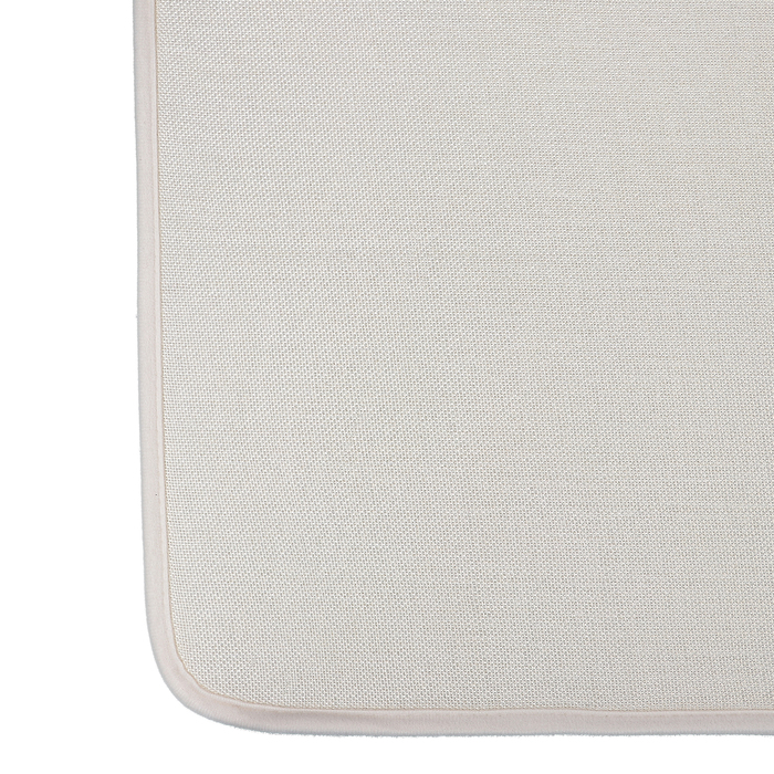 """Набор ковриков для ванной и туалета """"Лён"""", 2 шт, цвет бежевый"""