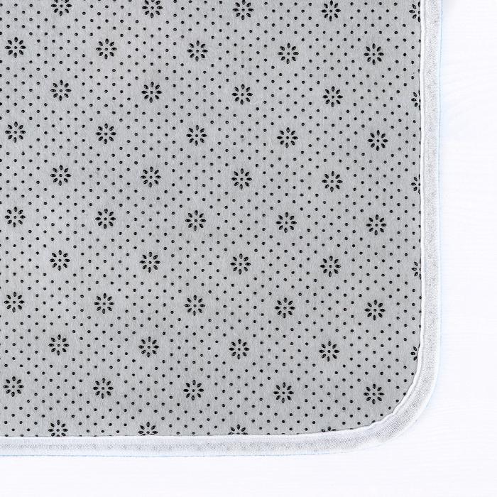"""Набор ковриков для ванной и туалета 50×79, 50×39 см """"Цветочное поле"""", 2 шт"""