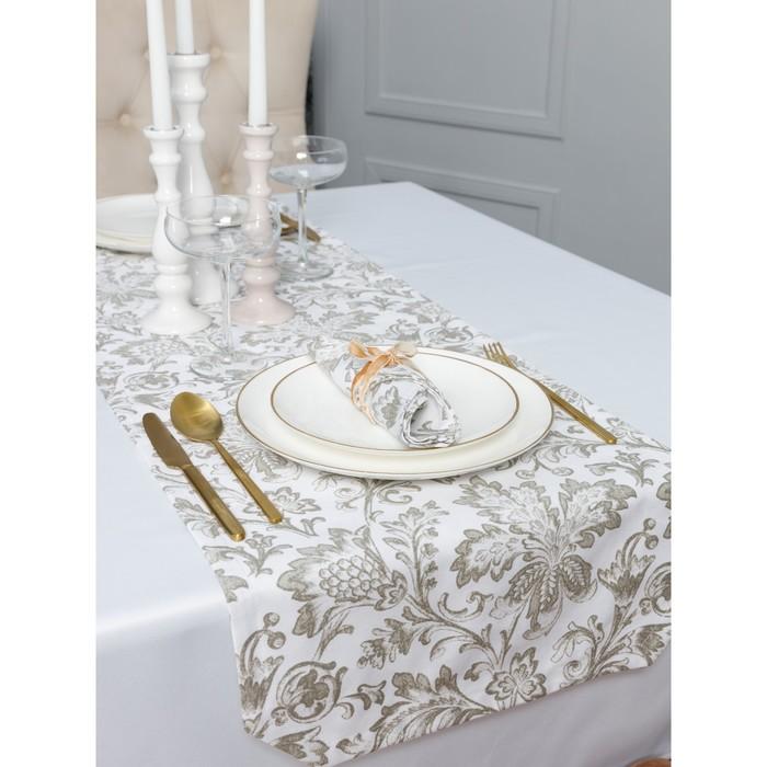 Дорожка на стол «Золото», размер 40 × 140 см