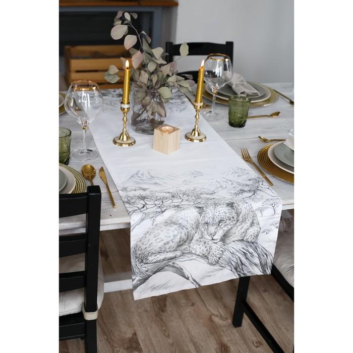"""Дорожка на стол """"Сафари"""" 40*146 см, 100% хл, саржа 190гр/м2"""