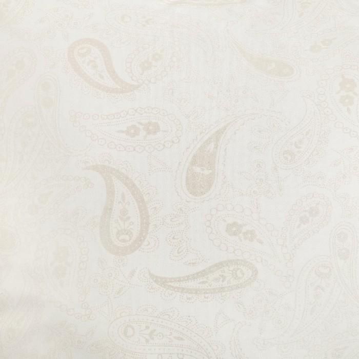 "Наперник на молнии ""Огурцы"", 70х70 см, цвет серебро"