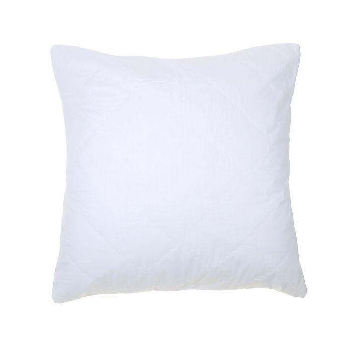 Чехол на подушку сменный стёганый на молнии, размер 70х70 см, суперсофт