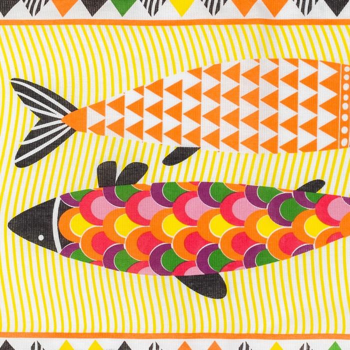 """Полотенце кух.""""Доляна"""" Fish 35х60 см, 100% хл, 160г/м2"""
