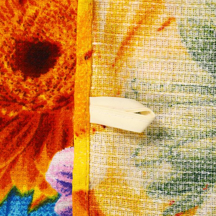 Набор полотенец DomoVita «Цветник», 45х60 см — 3 шт