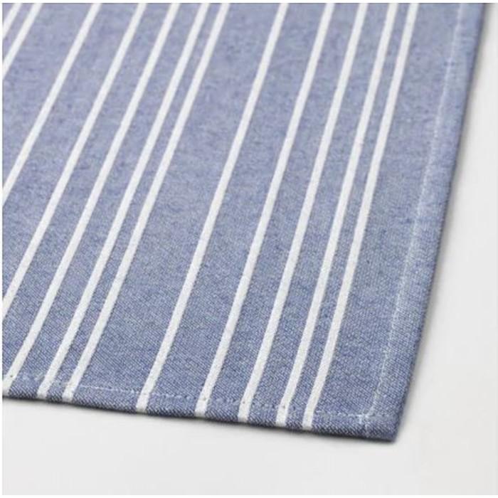 Набор полотенец ТИМВИСАРЕ, размер 50 × 70 см - 2 шт, тёмно-синий/чёрный