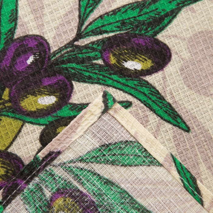 Полотенце вафельное Collorista «Олива», цвет бежевый 35×58, 100% хл, 160 г/м²