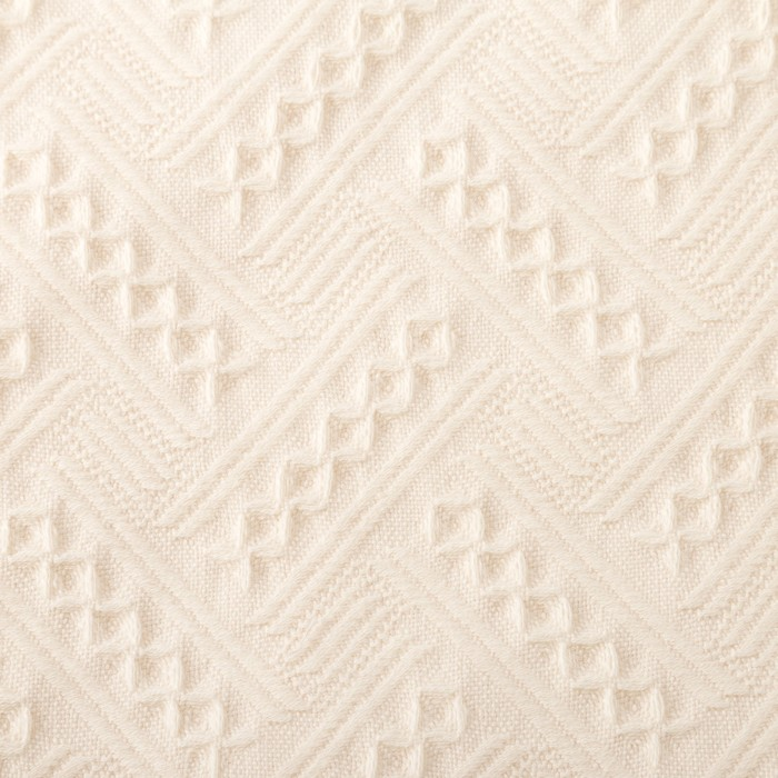 Полотенце Этель «Индия» цвет молочный, 30×70 см, 380 г/м², 100% хл