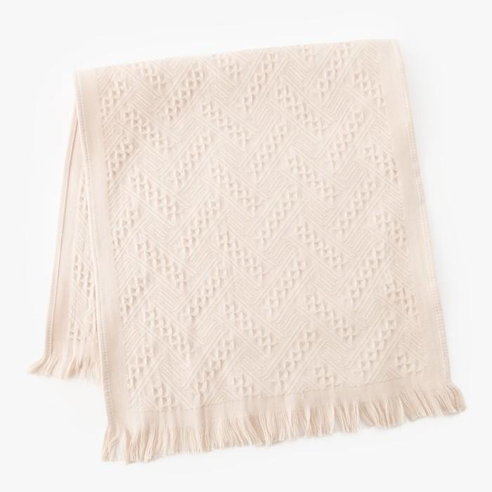 Полотенце Этель «Индия» цвет серый, 70×140 см, 380 г/м², 100% хл