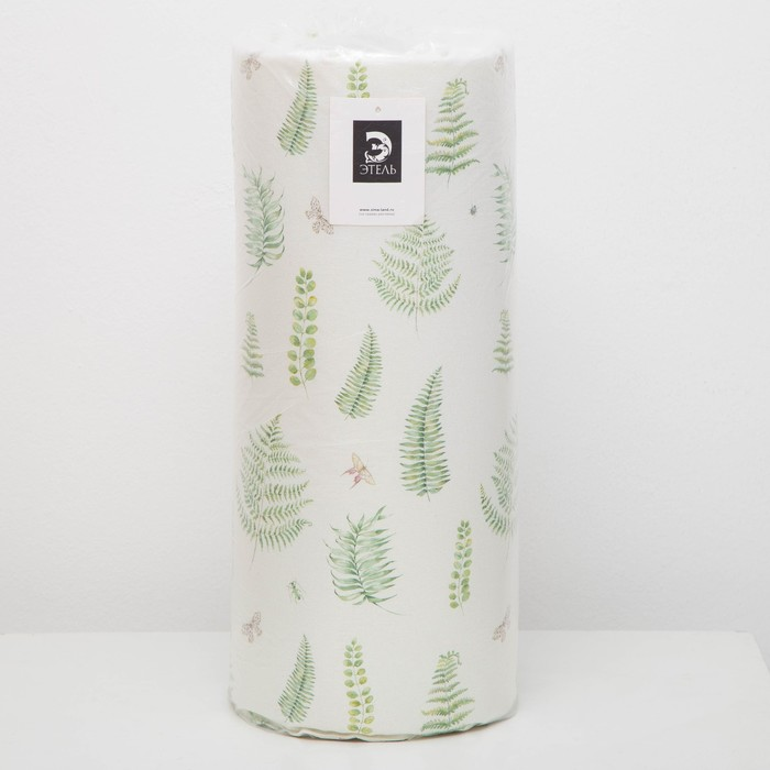 Подушка на двухместную скамейку «Этель» Листья 45×120 см, репс с пропиткой ВМГО, 100% хлопо