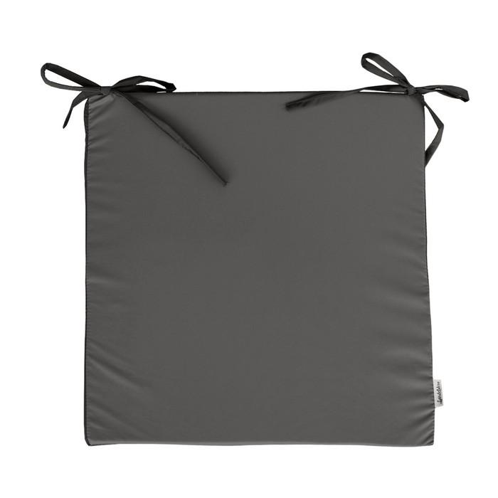 Сидушка на стул, размер 50х50 см, серый