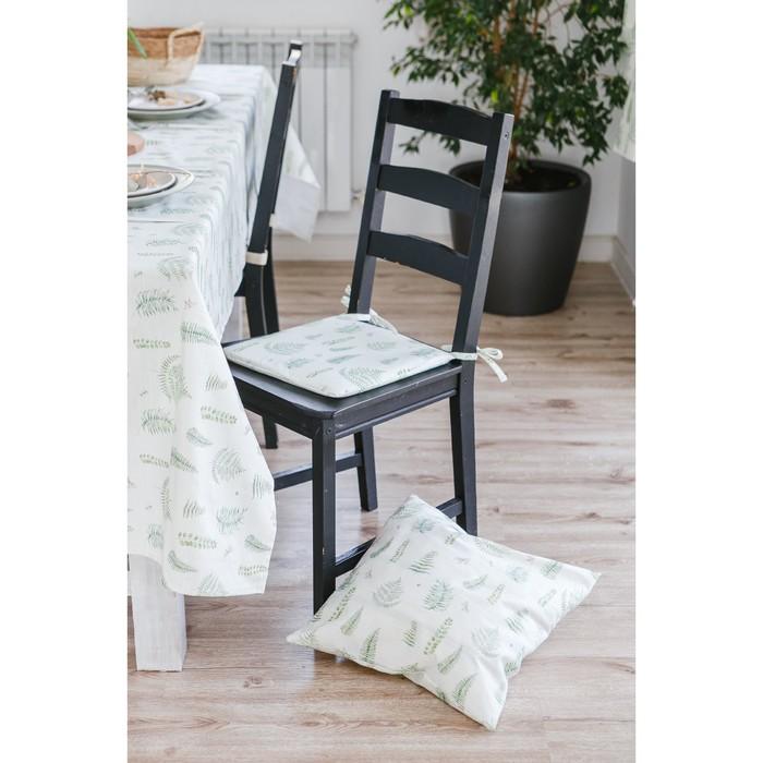 Подушка на стул Этель «Ветки», 32×32 см, репс, пл. 130 г/м², 100% хлопок