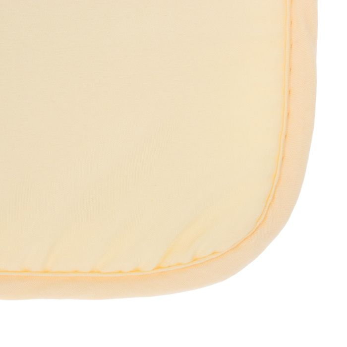 Набор подушек на стул - 2 шт., размер 34х34 см, цвет жёлтый