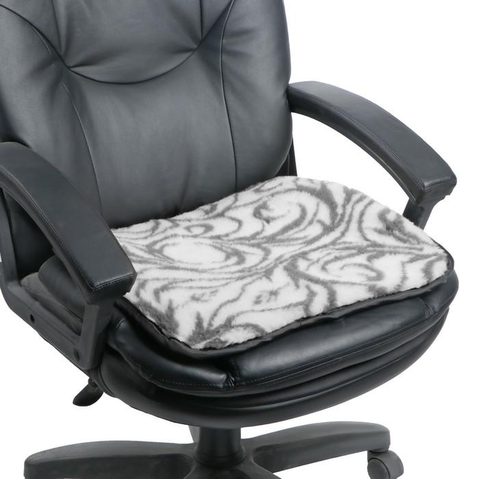 Накидка на стул двухсторонняя, 1 сорт, 50х50 см