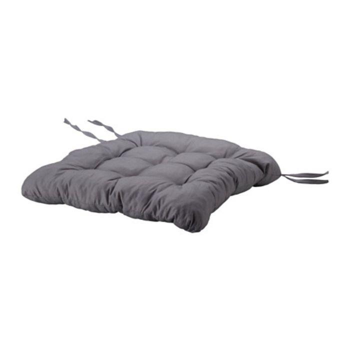 Подушка на стул, цвет серый ХЭЛЛЬВИ
