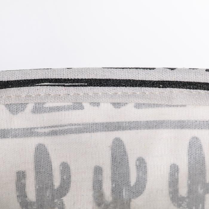 """Корзина для белья 35×35×45 см """"Цветные треугольники"""" рисунок МИКС"""
