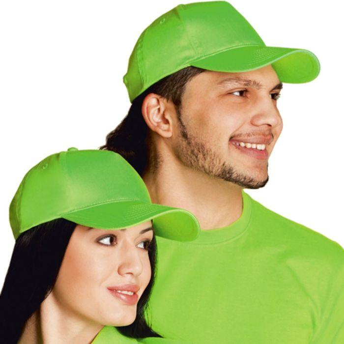 Бейсболка StanClassic, one size, цвет ярко-зелёный 150 г/м