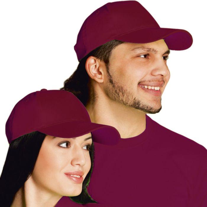 Бейсболка StanClassic, one size, цвет винный 150 г/м