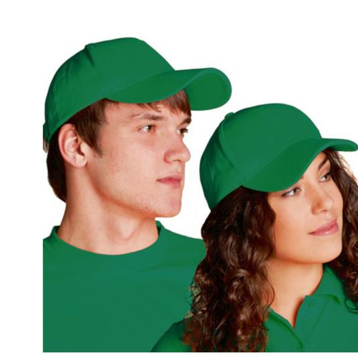 Бейсболка StanComfort, one size, цвет зелёный 200 г/м