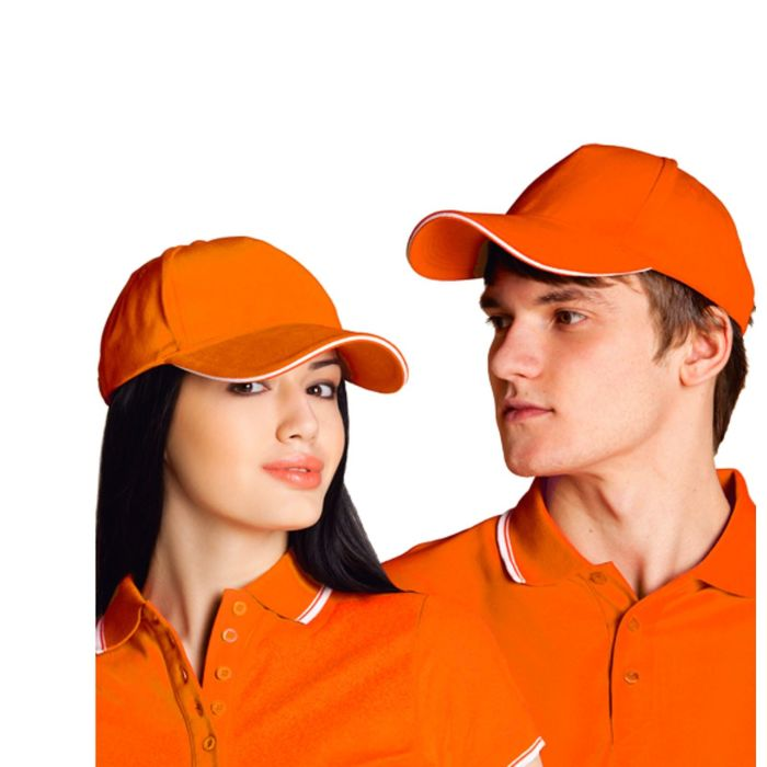 Бейсболка StanSpecial, one size, цвет оранжевый 200 г/м