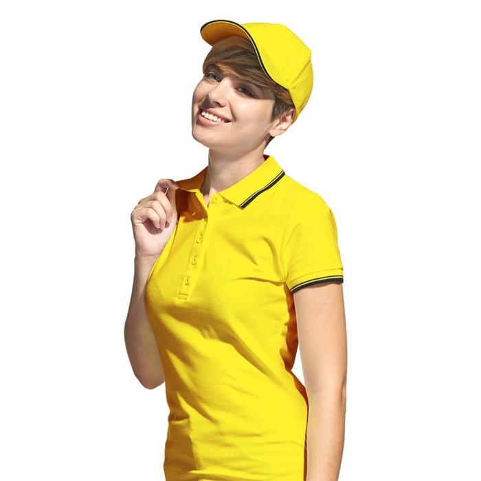 Бейсболка StanSpecial, one size, цвет жёлтый-чёрный 200 г/м