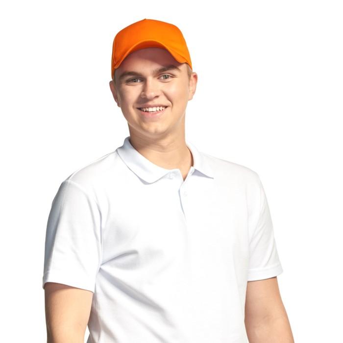 Бейсболка StanLin, one size, цвет оранжевый