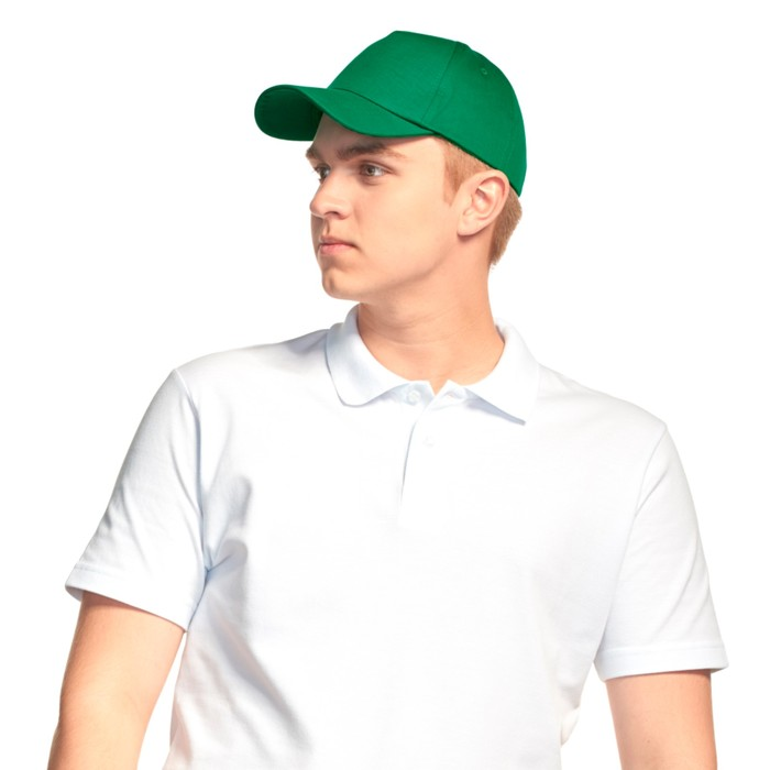 Бейсболка StanLin, one size, цвет зелёный
